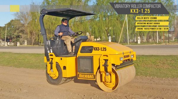 Vibratory Roller Compactor KX3-1.25 - 10582603N