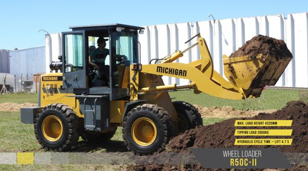 10582012N - Wheel Loader R50C-II