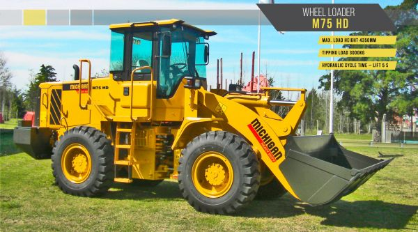 10582806N - Wheel Loader M75HD