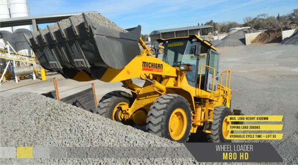 10582810N - Wheel Loader M80HD