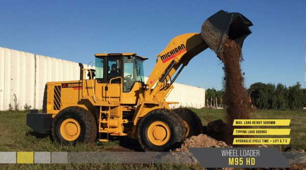 10582816N - Wheel Loader M95HD
