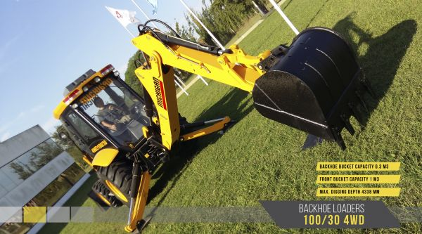 10582324N - Backhoe Loaders 100/30 4WD