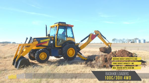 10582326N - Backhoe Loaders 100C/30II 4WD